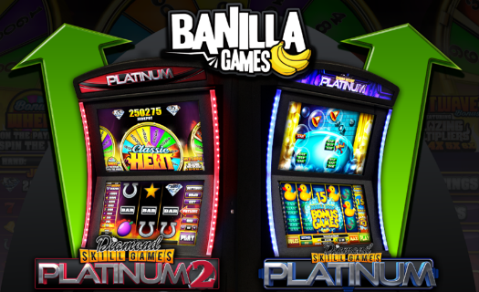 Banilla Platinum 1 and Platinum 2 Skill Games
