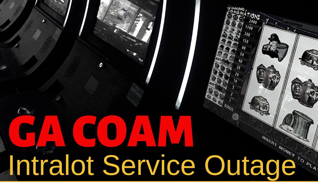 GA COAM Intralot Service Outage