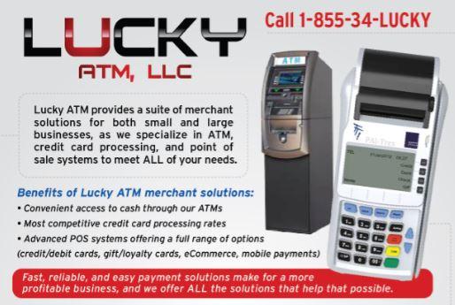 Lucky ATM serving Atlanta Georgia