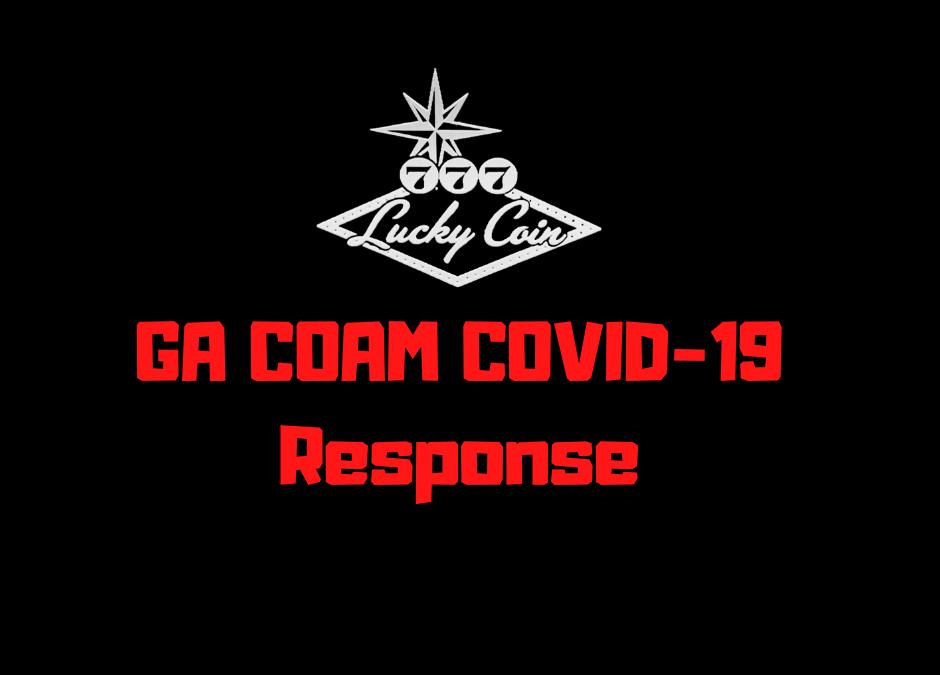 Lucky Coin GA COAM COVID-19 Response, March 16-20