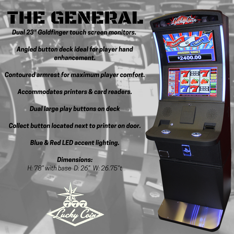 Lucky Coin-The General Cabinet