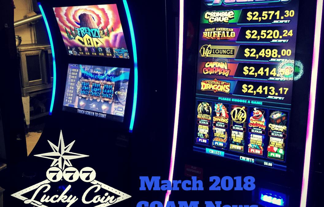 March 2018 COAM News