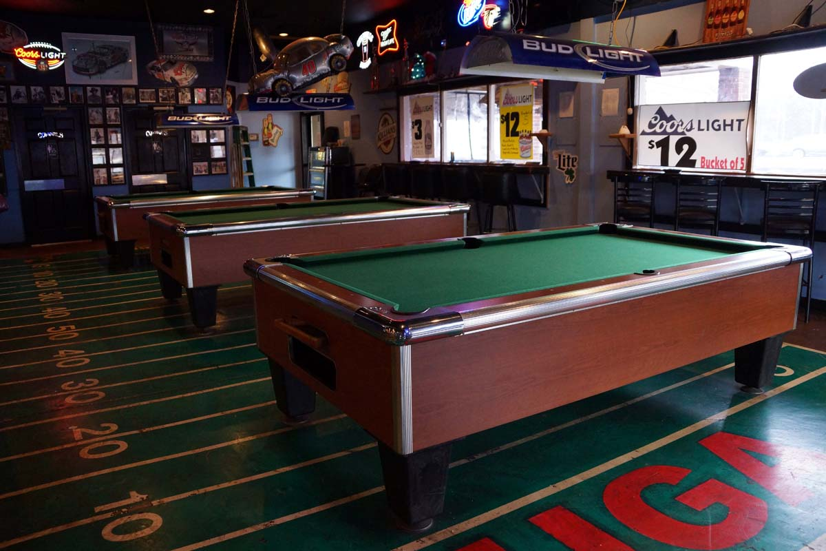 Coin Operated Pool Tables For Georgia Bars Amusement Centers Clubs - How much space do you need for a pool table