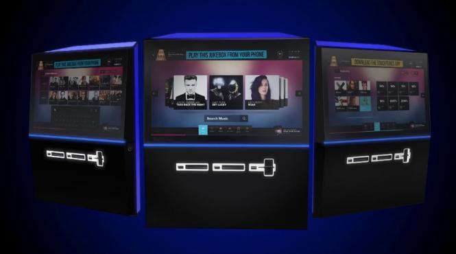 TouchTunes Playdium Jukebox